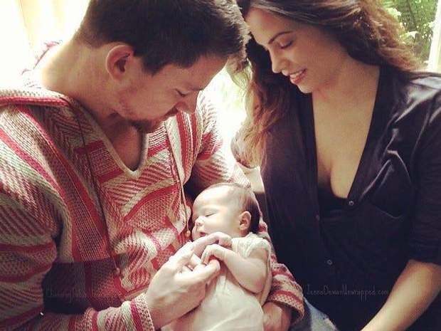 Ченнінг Тейтум та Дженна Деван з донькою
