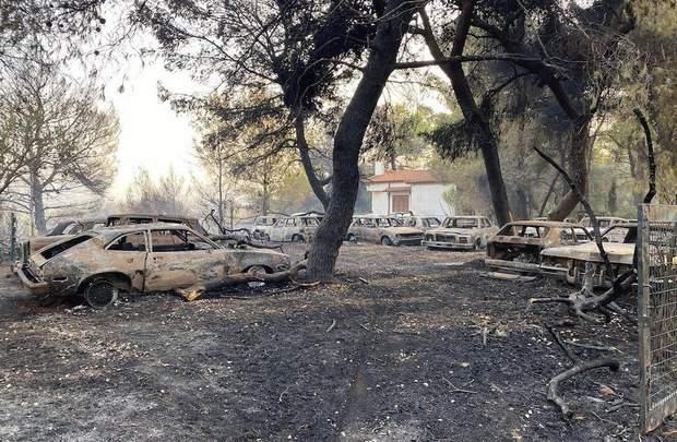Пожежі у ГРеції