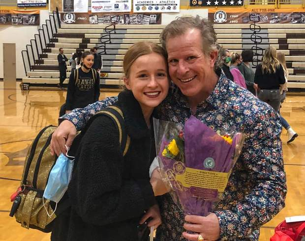 Кейсі з донькою