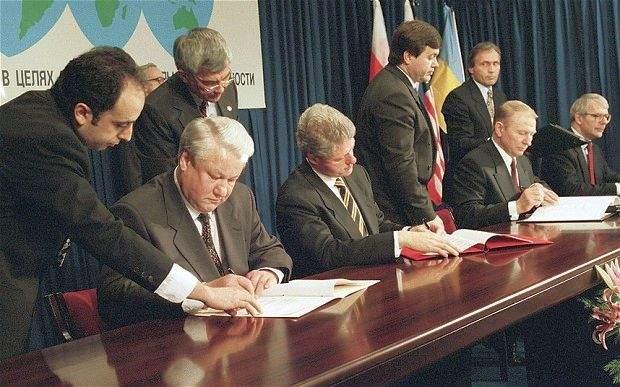 підписання Будапештського меморандума