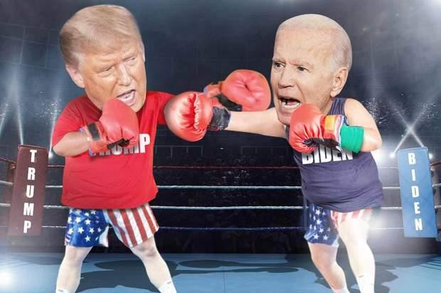 Байден та Трамп