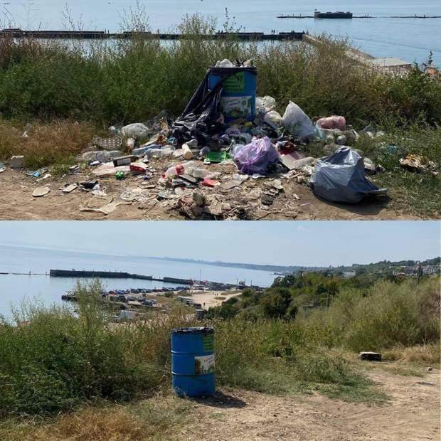 Поповський пляж, Одеса, прибирання, активісти