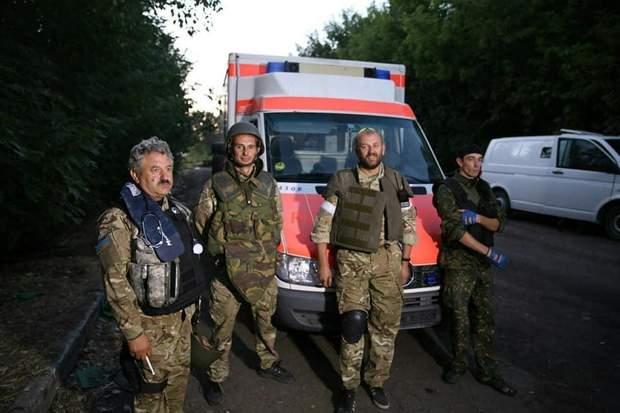 Військовий медик Володимир Боднар