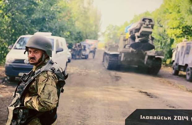 Військовий медик Володимир Боднар в Іловайську