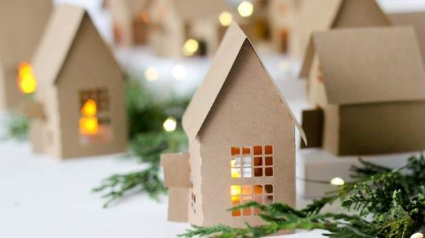 Будиночки, виготовлені власноруч