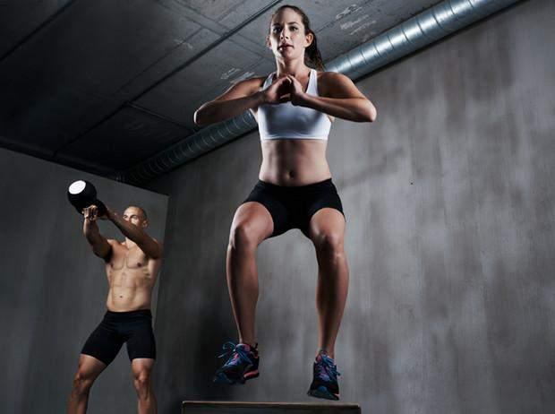 Во время тренировки вы нагружаете все мышцы