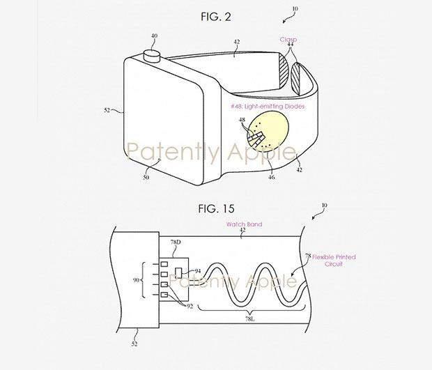 Apple запатентувала фітнес-браслет