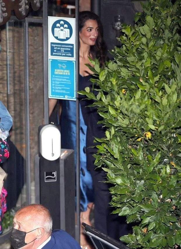Джордж та Амаль Клуні на побаченні