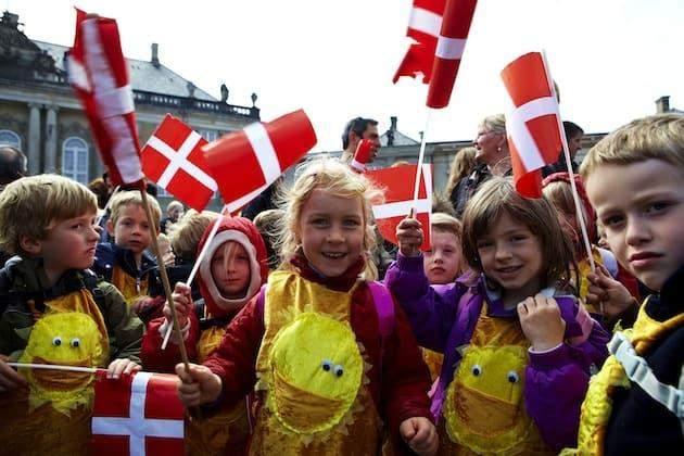 Діти в Данії