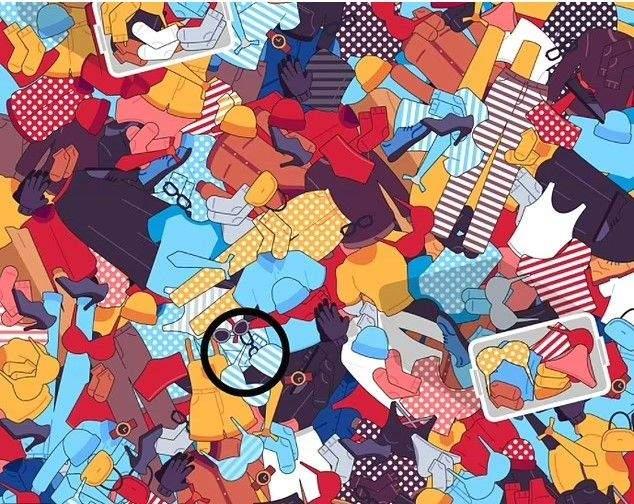 Головоломка тижня: ілюстрація, яка взята з життя – де моя друга шкарпетка