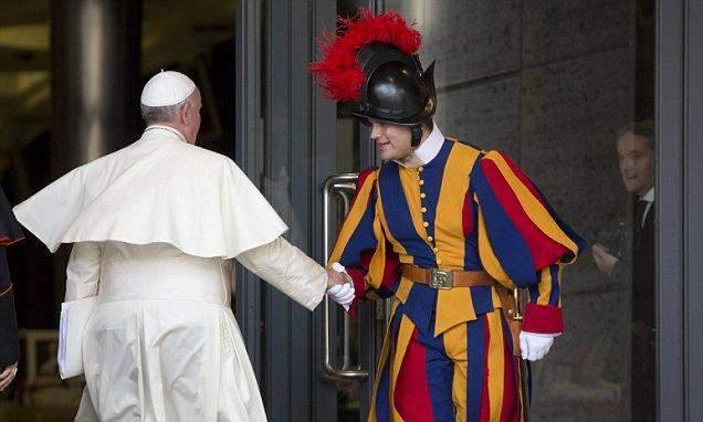 ватикан армія
