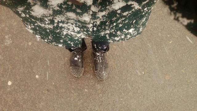 В Харькове выпал первый снег: яскравие фото и видео