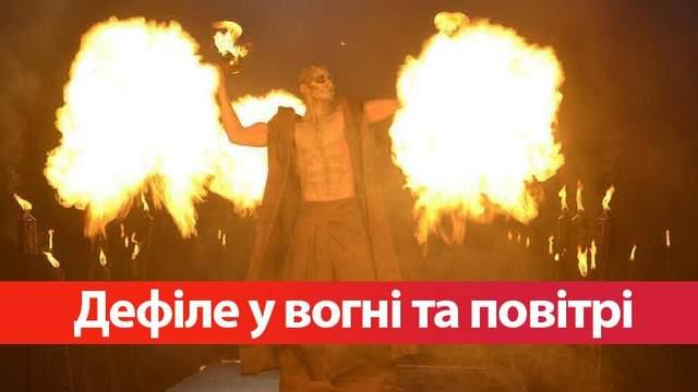 Топ-модель по-украински 4 сезон 13 выпуск: моделей бросили в пламя и заставили ходить в воздухе