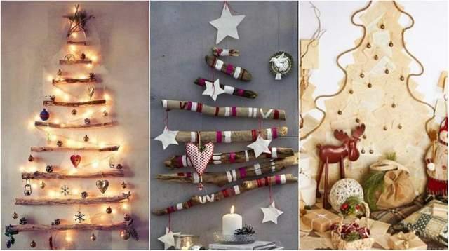 7 необычных новогодних елок, которые можно поставить дома