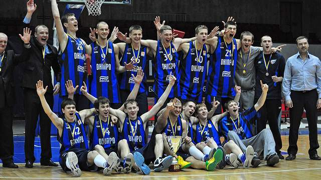 «Днепр» претендует на победу в Чемпионате Украины по баскетболу