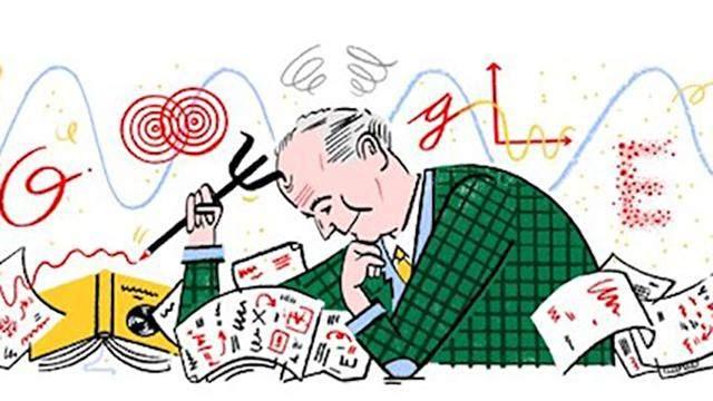 Google посвятил дудл Максу Борну – одному из создателей квантовой механики