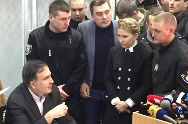 Я – военнопленный, – Саакашвили в зале суда