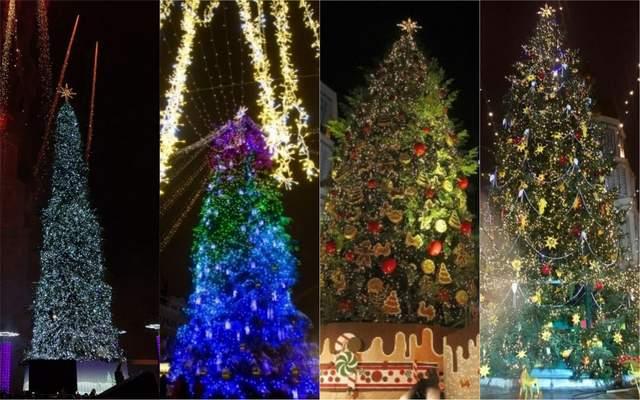 Как выглядела главная елка Украины в разные годы независимости