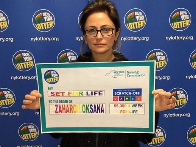 Украинка выиграла в американской лотерее заоблачную сумму