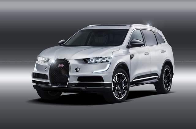 Bugatti обещает выпустить внедорожник