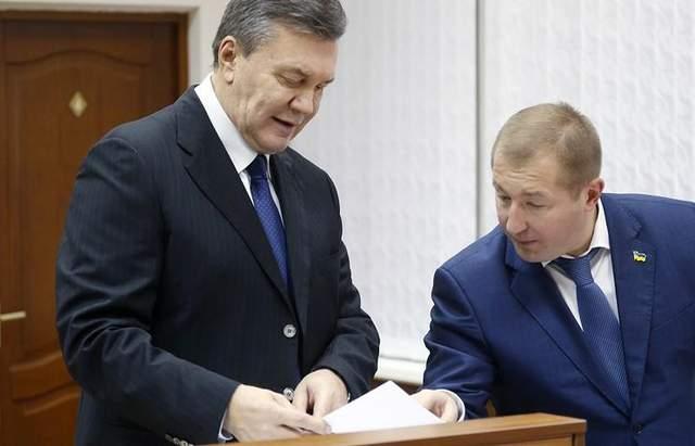 Азаров, Клюев, Захарченко и другие: адвокаты Януковича назвали лиц, которых хотят допросить
