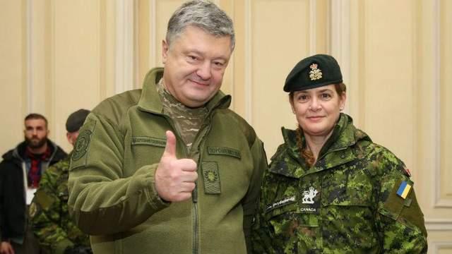 Генерал-губернатор Канады привезла Порошенко «фантастический» подарок