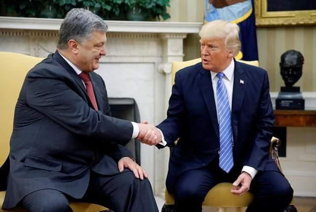 В США прокомментировали вероятность встречи Трампа с Порошенко