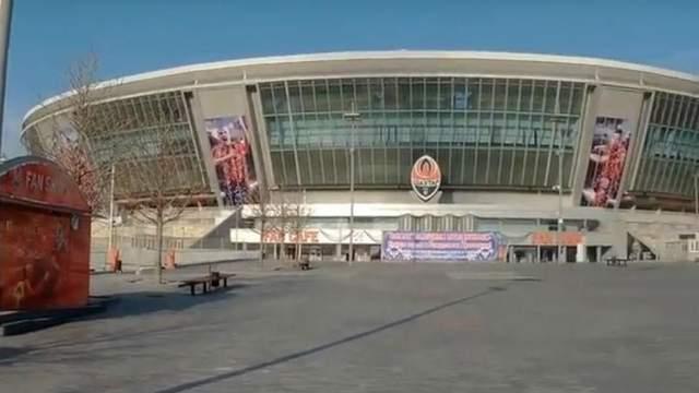 Как изменилась «Донбасс Арена» за время оккупации: в сети появилось свежее видео