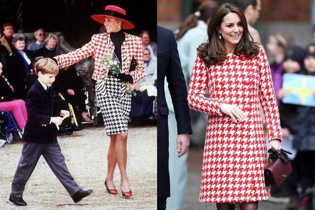 Кейт Миддлтон примерила похожий образ, как принцесса Диана 30 лет назад: волшебные фото