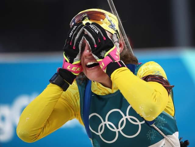 Биатлон на Олимпиаде-2018: шведка Ханна Эберг сенсационно победила в индивидуалке