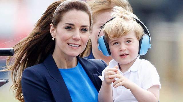 Кейт Миддлтон назвала два любимых мультфильма принца Джорджа