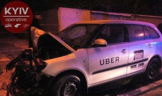 Очередное ДТП с участием авто Uber произошло в Киеве: появились фото
