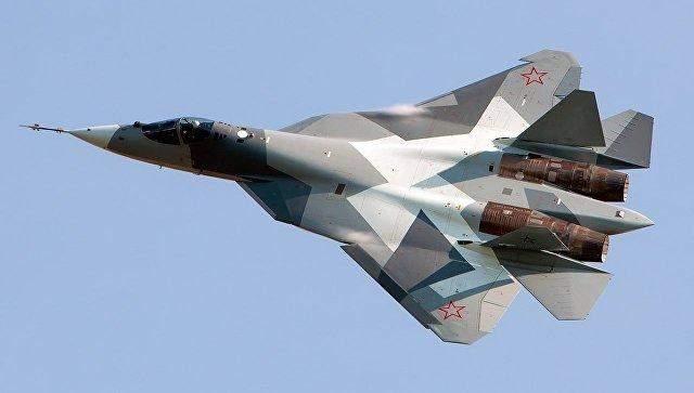 Россия перебросила на свою базу в Сирии новейшие самолеты-истребители Су-57