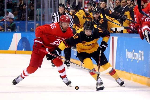 Хоккей на Олимпиаде-2018: Олимпийские атлеты из России выиграли «золото» в матче против Германии