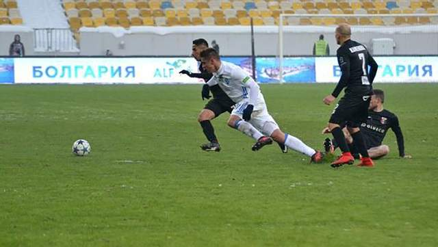 «Динамо» сенсационно уступило «Вересу» с крупным счетом во Львове