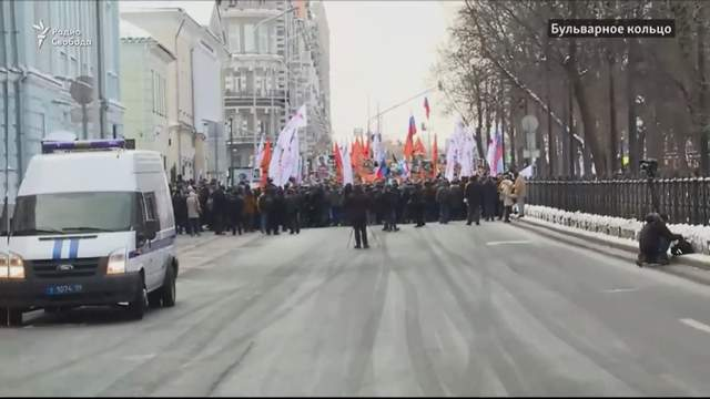 Как прошел марш памяти Бориса Немцова