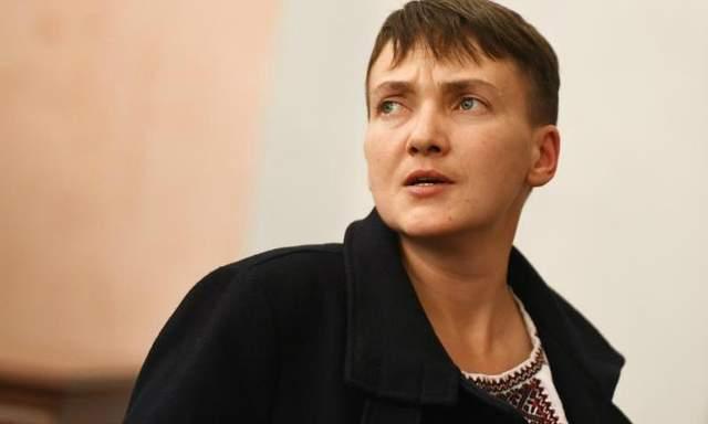 Обнародовано представление ГПУ о привлечении Савченко к уголовной ответственности