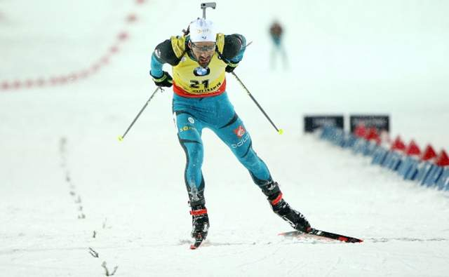 Биатлон: последний спринт сезона выиграл Мартен Фуркад