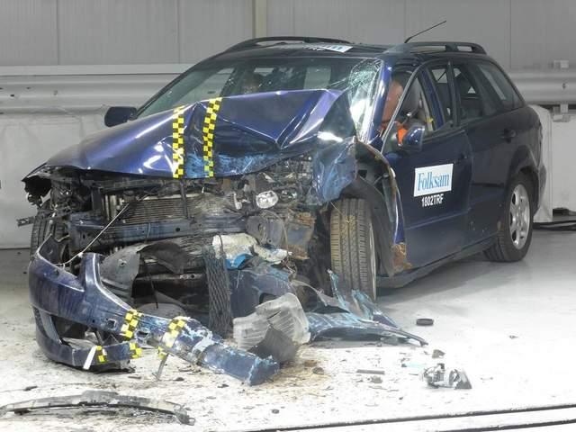 Краш-тест авто: насколько безопасны ржавые автомобили