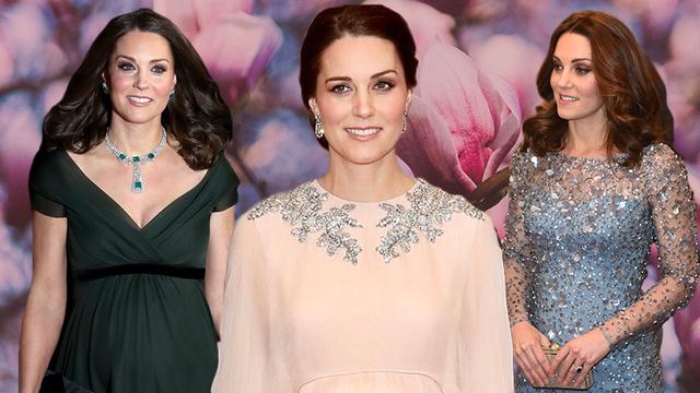 Топ-4 элегантных платья беременной Кейт Миддлтон: очаровательные фото