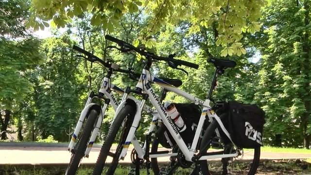 Велопатруль во Львове: что полицейские думают о работе на велосипедах