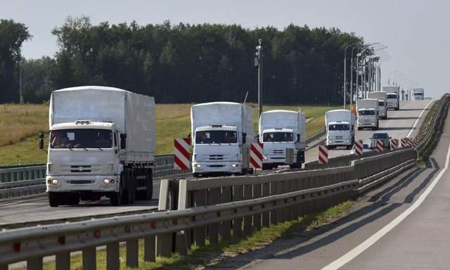 Россия отправила на оккупированный Донбасс «гумконвой»