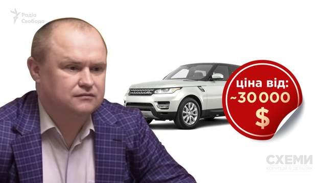 Заместитель председателя СБУ Демчина купил элитное авто во время следствия об обогащении