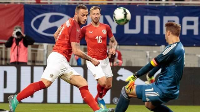 Австрия сенсационно обыграла Германию, Нойер вернулся на футбольное поле после почти 9-месячной паузы