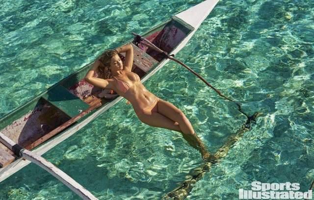Джиджи Хадид на съемках для Sports Illustrated: соблазнительная подборка