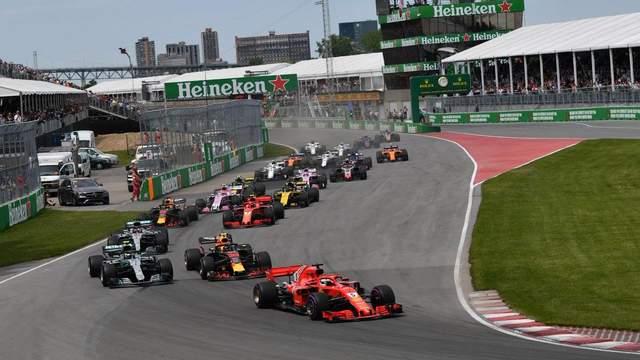 Формула-1: гран-при Канады выиграл Феттель