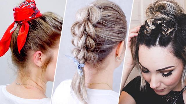 Прически на короткие волосы: простые и быстрые идеи на каждый день с видео