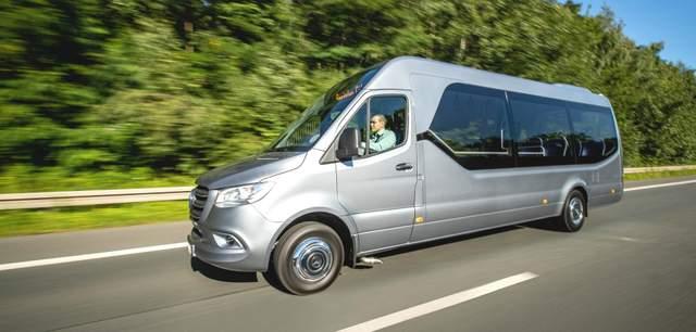 Mercedes-Benz Minibus Sprinter City 75 – вот какие маршрутки нам нужны