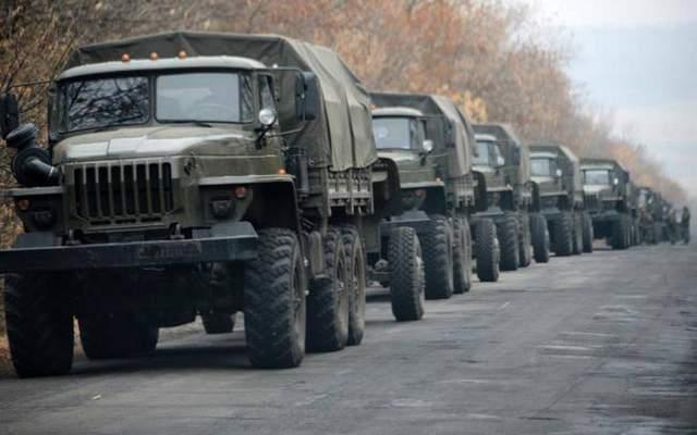 Российско-украинскую границу пересекла колонна техники – ОБСЕ