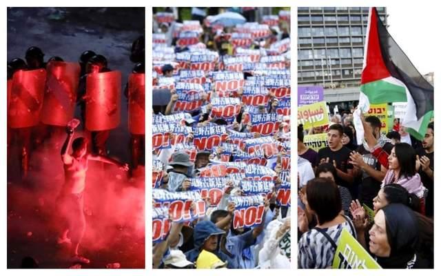 За прошедшие сутки мир всколыхнули масштабные протесты в трех странах: международный обзор